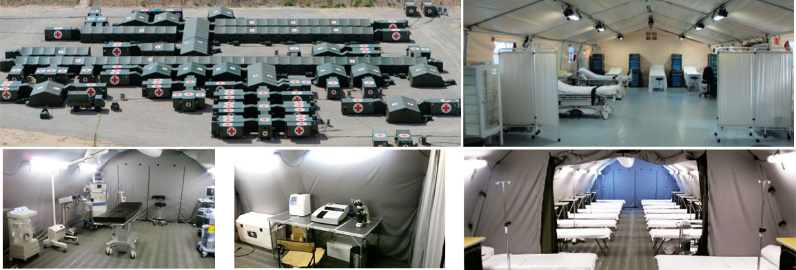Field Hospitals & Emergency Shelters